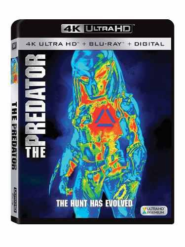 Blu Ray The Predator 2d - 4k - Stock - Nuevo - Sellado