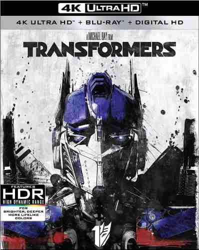 Blu Ray Transformers 2d- 4k - Stock - Nuevo - Sellado