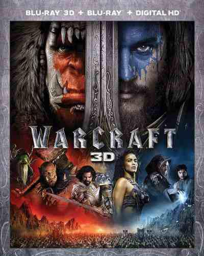 Blu Ray Warcraft 3d - 2d Stock - Nuevo - Sellado