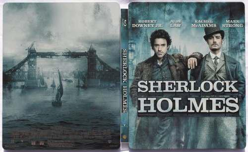 Bluray's Sherlock Holmes 1 (steel Book) - Nuevos 10/10