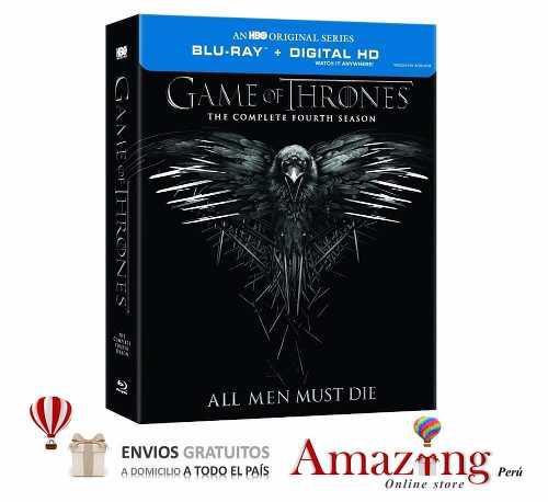 Oferta Game Of Thrones Juego De Tronos Temporada 4 Blu Ray
