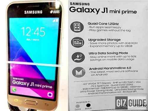 Samsung Galaxy J1 Mini Prime 4g (9/10)