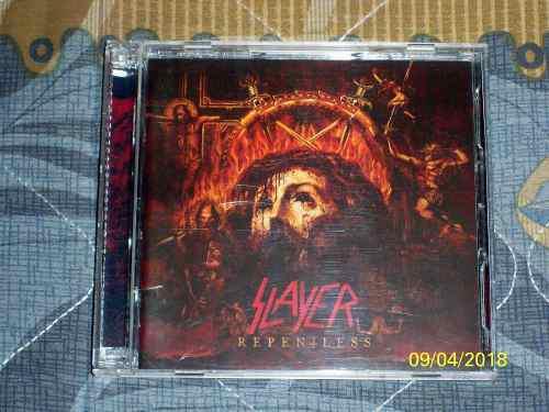 Slayer - Repentless Cd + Blu Ray - Nuevo Y Sellado