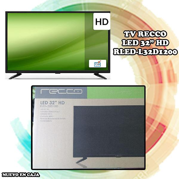Televisor LED / Recco / 32 Pulgadas / Nuevo en caja