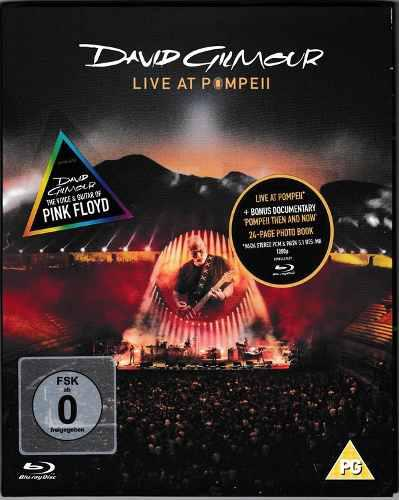 The/noise/blu Ray David Gilmour ¿¿ Live At Pompeii Blu Ray