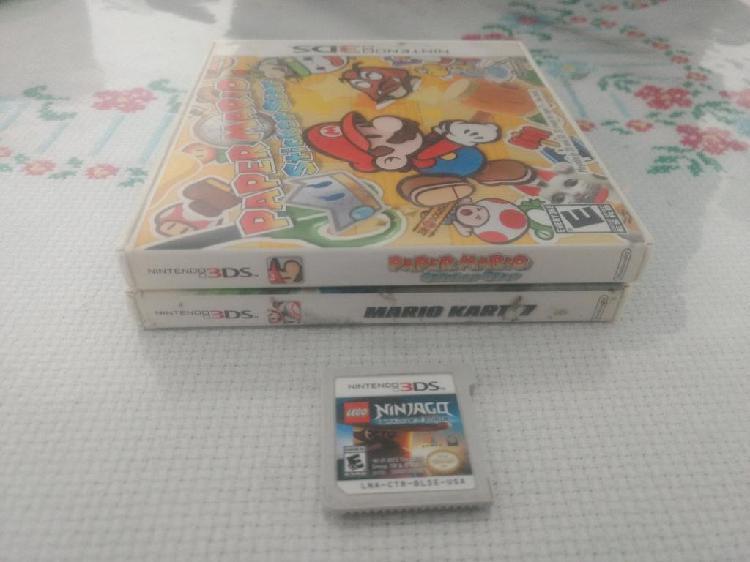 Juegos Nintendo 3ds desde 30 Soles