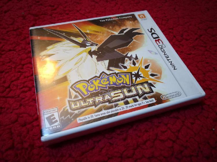 Nintendo 3ds Pokemon Ultra Sun Nuevo