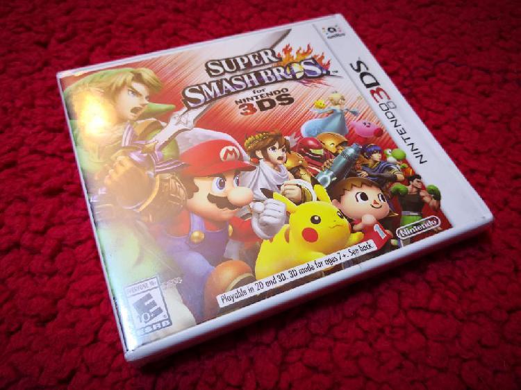 Nintendo 3ds Super Smash Bros Nuevo