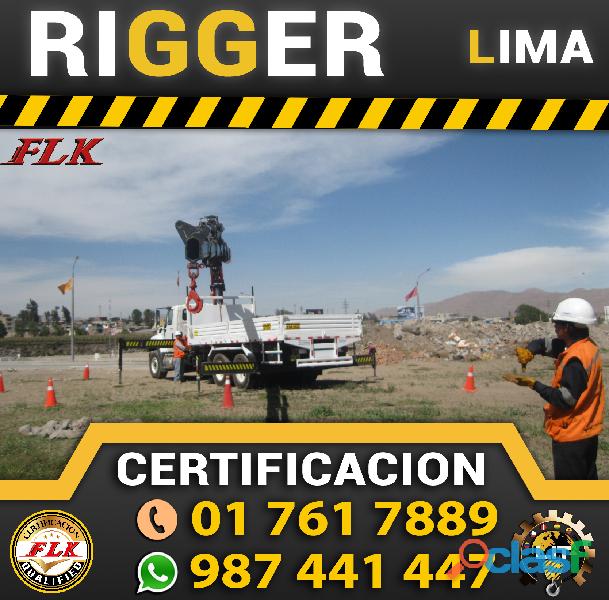 Certificacion de Rigger