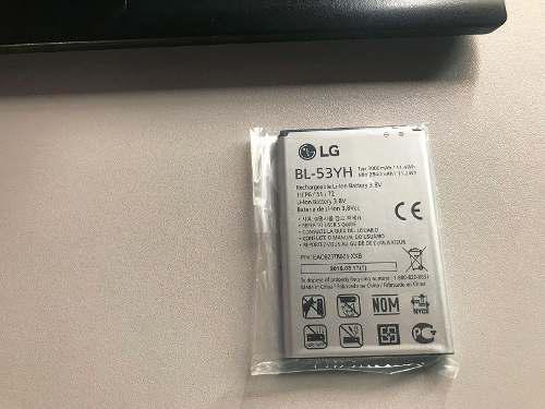 Bateria Lg G3 G4 Original Bl-53yh 100% Original Claro