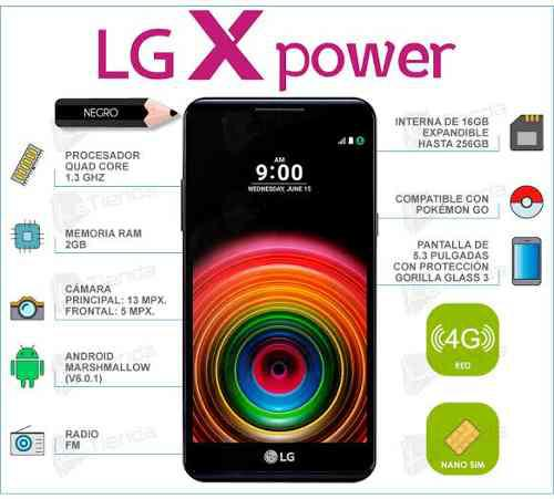 Celular Lg X Power