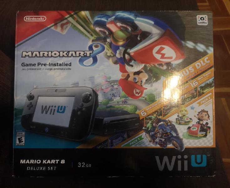 Consola Nintendo Wii U Deluxe de 32gb