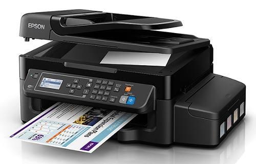 Impresora Multifuncional Epson Ecotank L575 A4 Wifi Adf