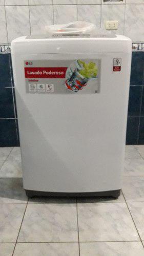 Lavadora Blanca Lg 16 Kg En Buen Estado