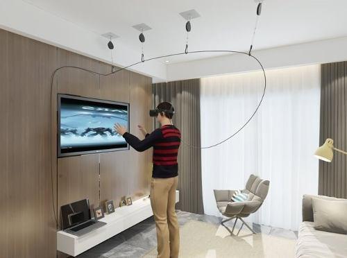 Skywin Vr Manejo De Cables Para Oculus Rift Y Htc Vive