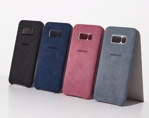 Alcantara Cover Protector Samsung Galaxy S8 & S8 Plus Oem A1
