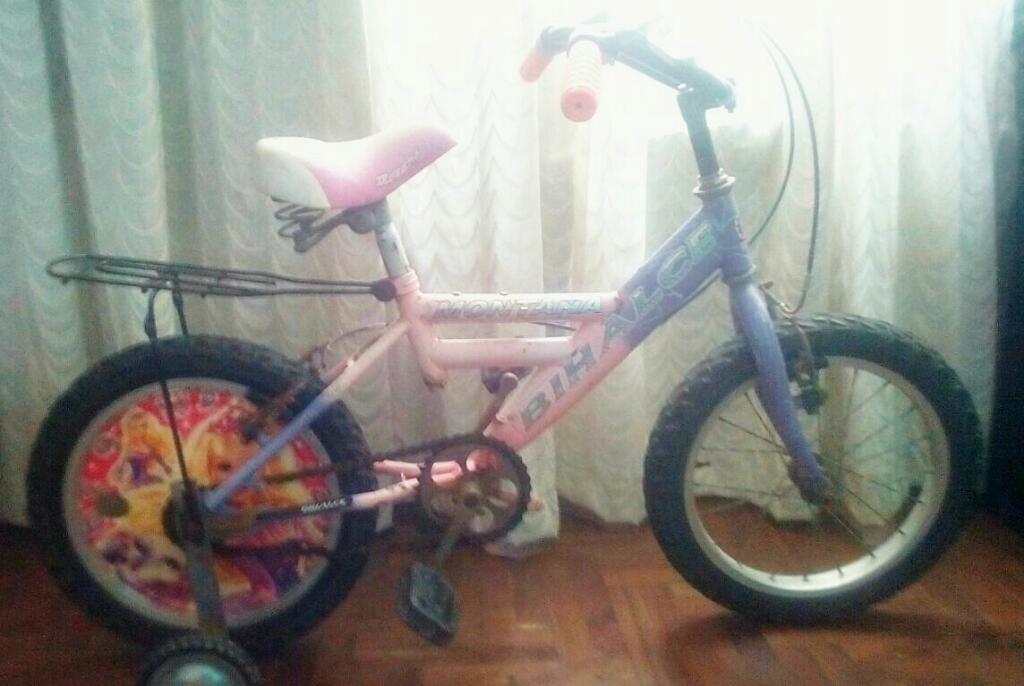 Bicicleta para Niña Aro 16