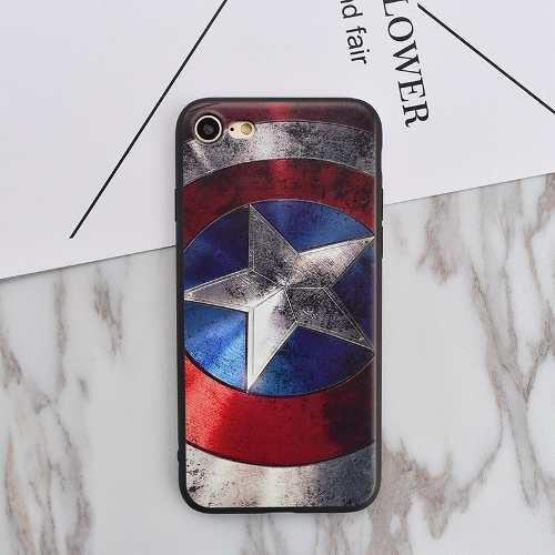 Case / Carcasa Avengers Para Celular Iphone 5s/se/6s/7 Plus