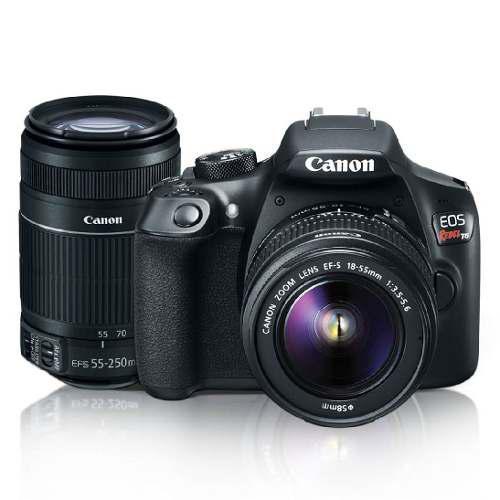 Cámara Canon Eos Rebel T6 Dslr Con Lente 18-55mm