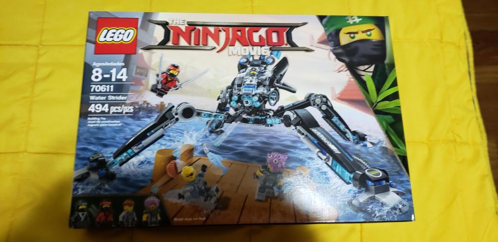 Lego Ninjago Movie Guerrero Acuatico stock