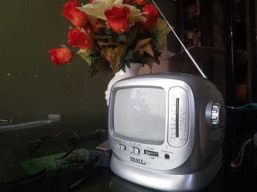 Remato Tv De 12 Pulgadas Blanco Y Negro