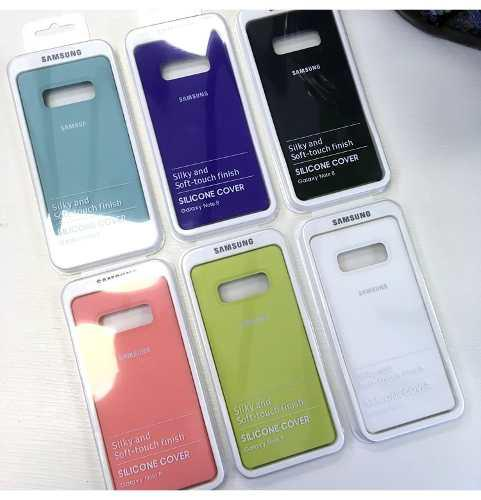 Silicone Cover Case Funda Samsung Galaxy Note 8