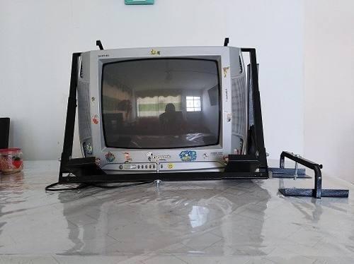 Televisor Panasonic 20/21 Con Rack De Pared