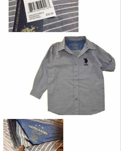 Camisas Niños Us Polo Assn