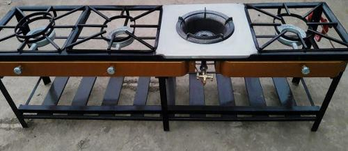 Cocina Industrial 3 Hornillas+chifero = Oferta!!!!!