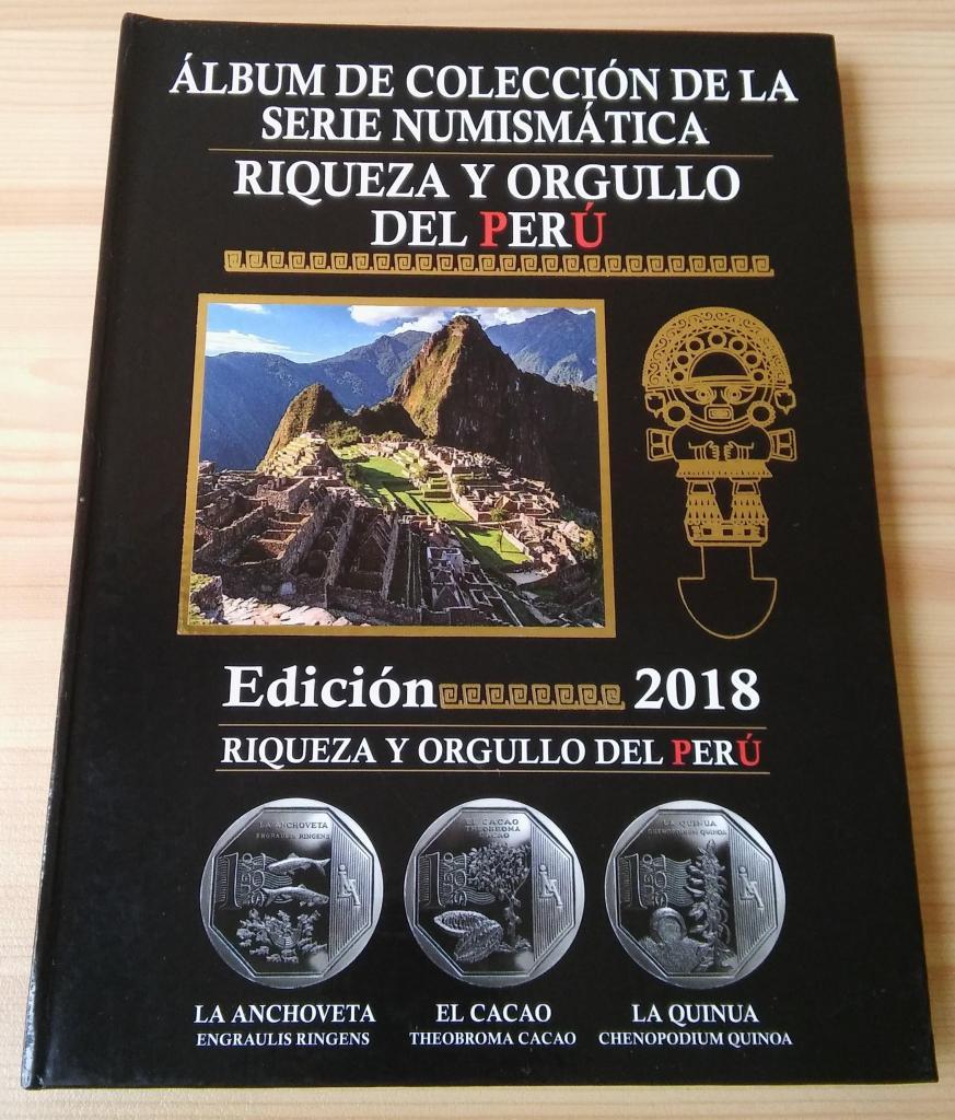 Coleccion Completa Monedas Riqueza y Orgullo del Peru,