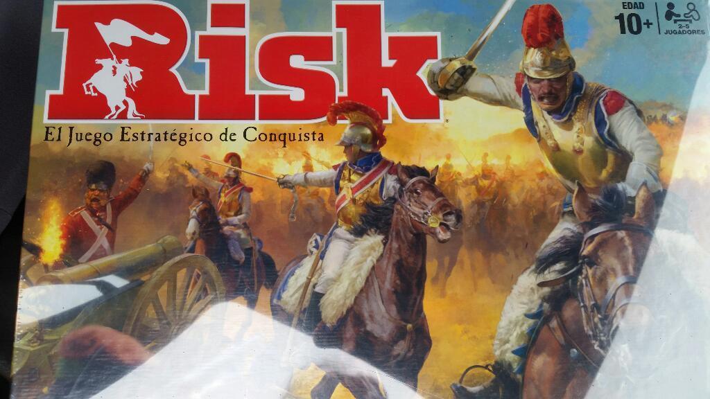 Hasbro Risk Juego Estrategico Nuevo