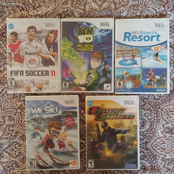 Juegos de Wii Y Wiiu Acepto Cambios