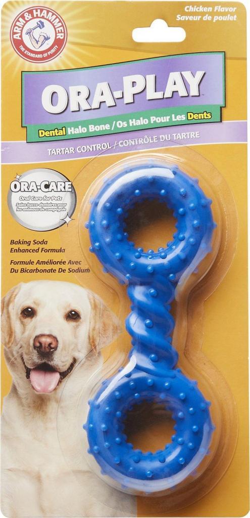 Juguete para perros importado Ora Play, anti sarro y anti