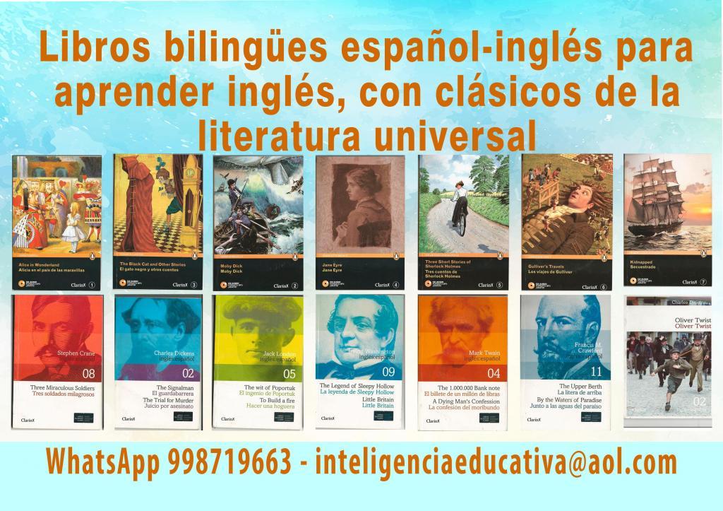 Libros bilingues ingles español, Literatura universal