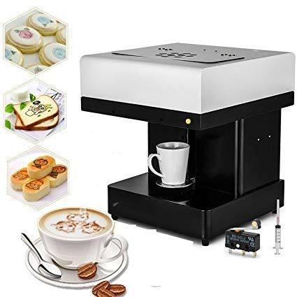 Máquina Impresión En Café Galletas Negocio Publicidad