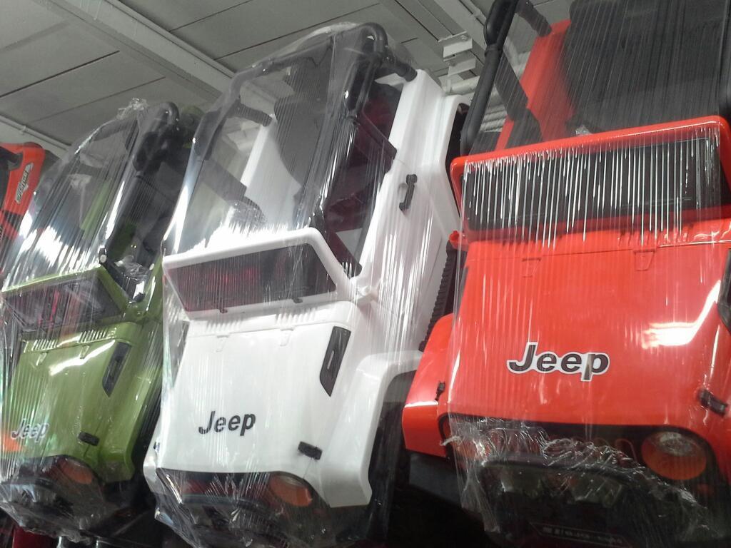 Camionetas Jeep 4x4 a Bateria con Usb Y
