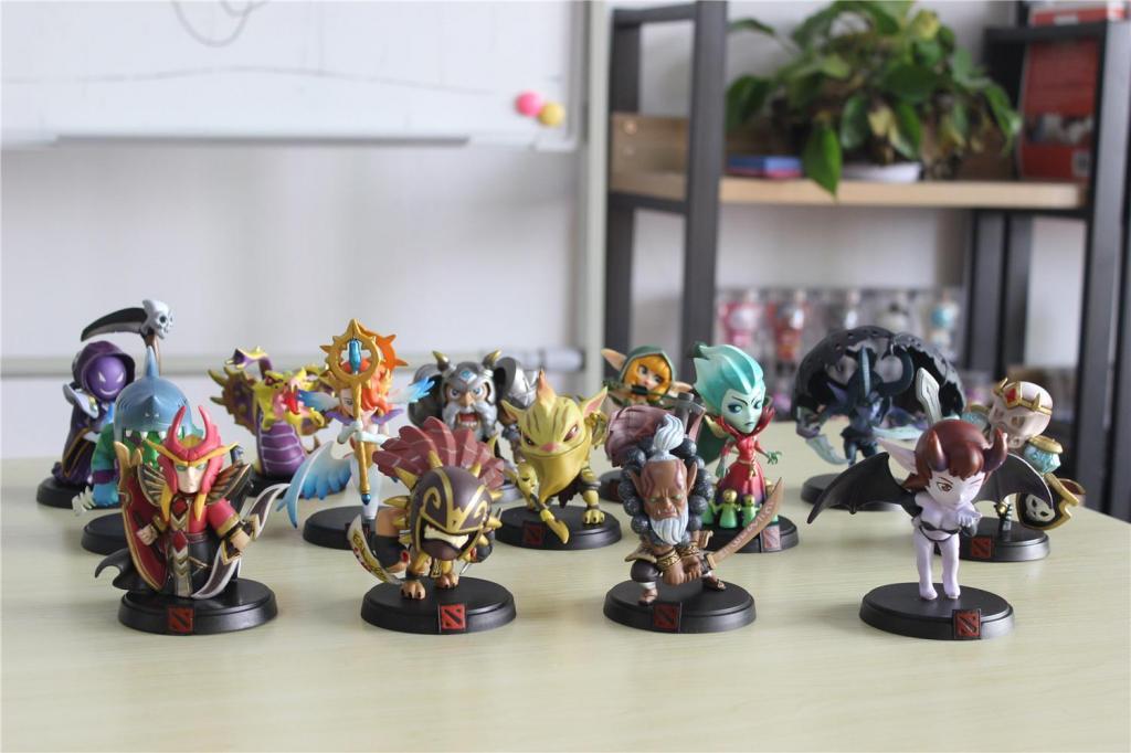 SUPER OFERTA !!! Muñecos De Dota 2 Warcraft Nuevos con caja