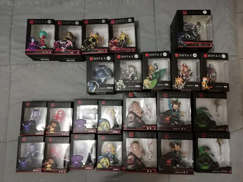 Super Oferta Muñecos Dota 2 Y Warcraft Arequipa