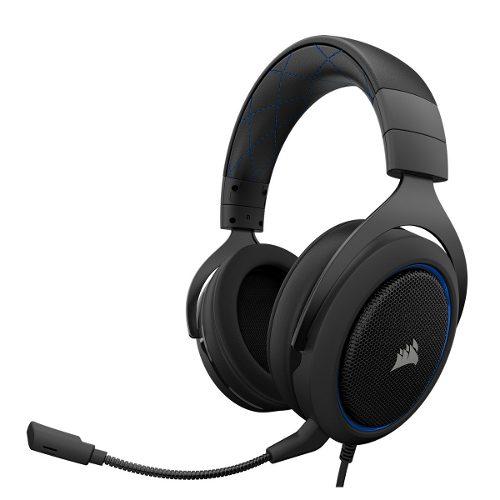 V Audífono Corsair Hs50 Stereo Gamer Pc Ps4 Xbox One