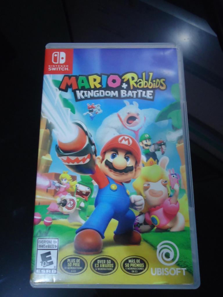 REMATO Juego de Nintendo Switch MarioRabbids s/100