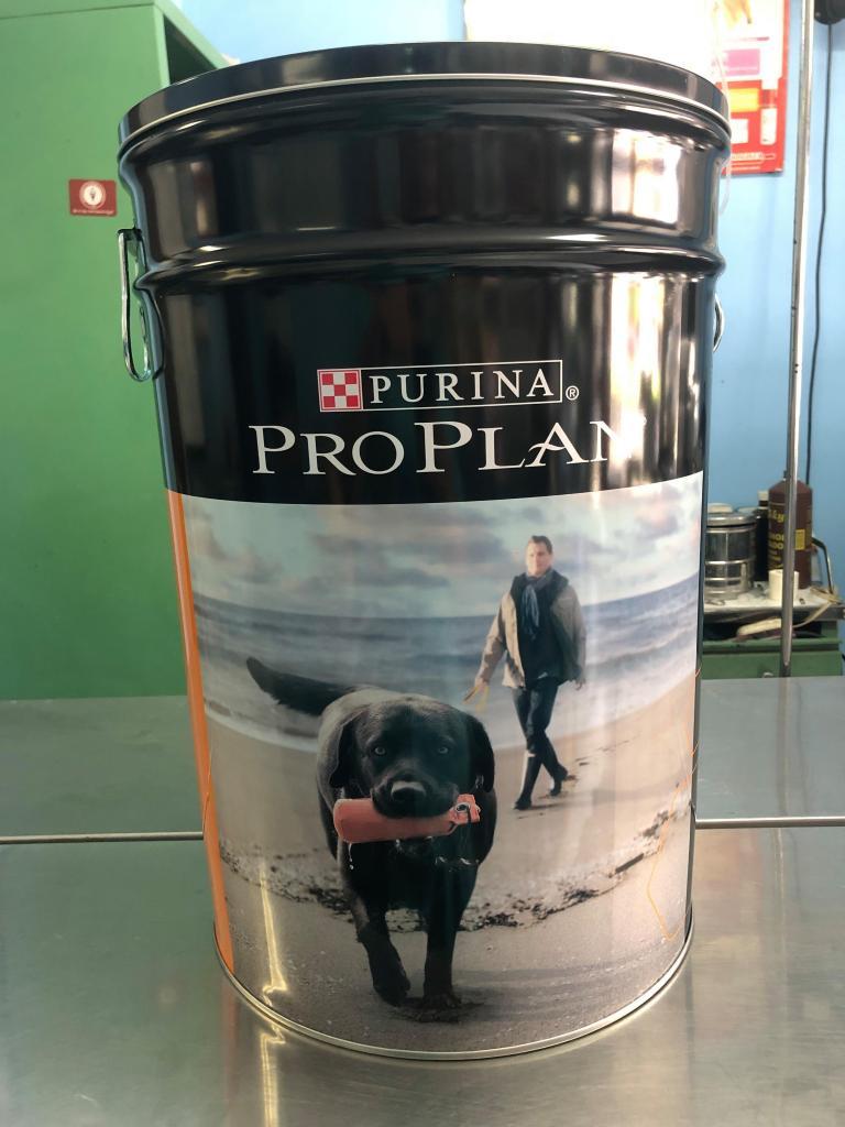 vendo proplan cordero cachorro 15.4kg contenedor a 270 soles