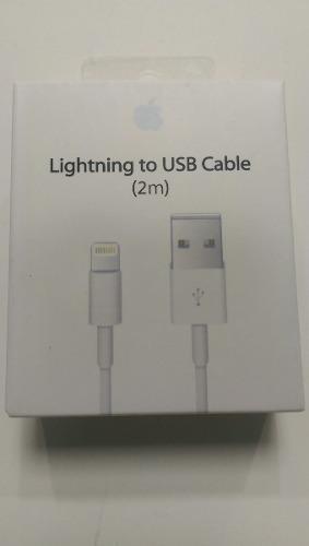 Cable Usb Iphone De 2 Metros