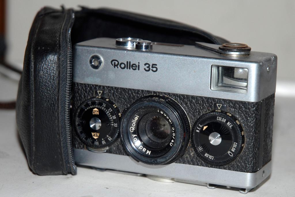 Cámara Fotográfica Rollei 35