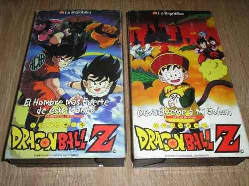 Dragon Ball Z Colección Vhs