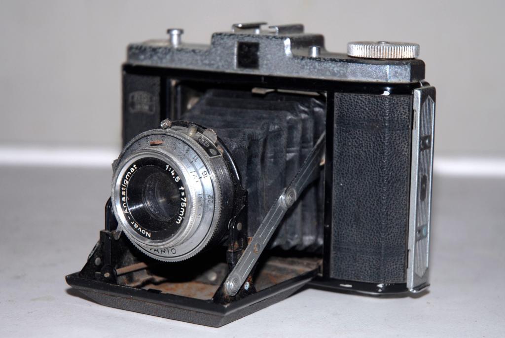 cámara fotográfica Zeiss Ikon Nettar / Signal Nettar