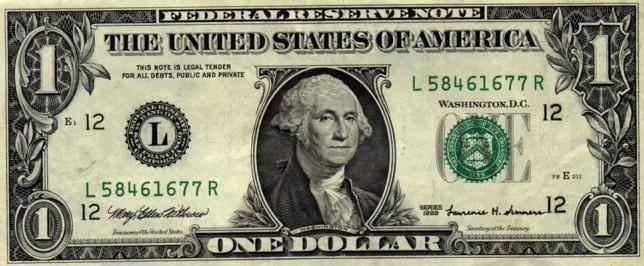 vendo billete de 2 dolares