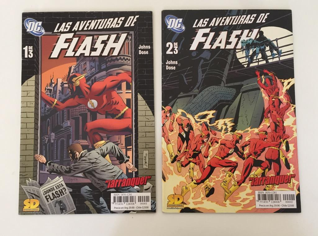 Comics de Las Aventuras de Flash