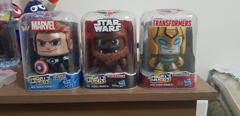 Hasbro Mighty Muggs Pack de 3 Nuevo