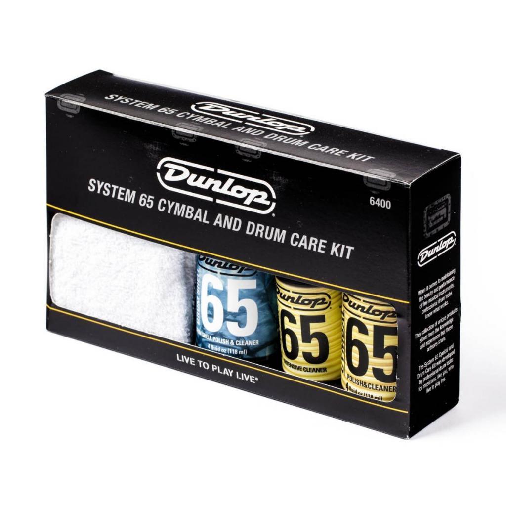 Jim Dunlop  Kit De Limpieza Para Bateria Y Platillos