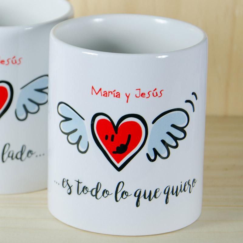 Pack de tazas personalizadas Estar a tu lado